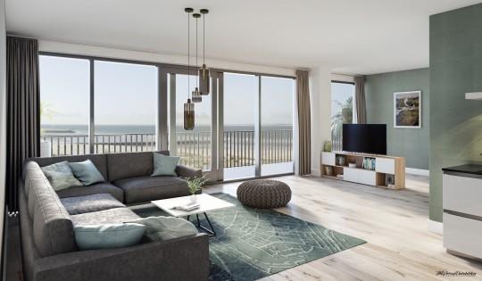 Wohnung, helle Räume, weiter Blick, bodentiefe Fenster